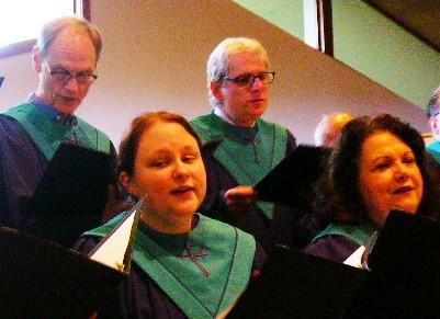 Bethany Choir rehearsal