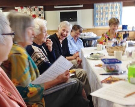 Altar Guild salad luncheon